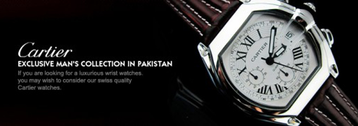 Cartier Watches in Pakistan