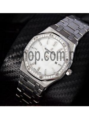 Audemars Piguet Royal Oak Diamond Bezel Ladies Watch Price in Pakistan
