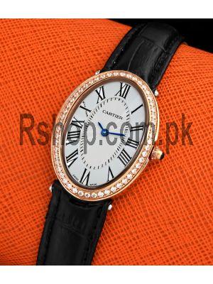 Cartier Baignoire Diamond Bezel Womens Watch Price in Pakistan