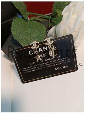 Chanel Crystal CC Star Moon Earrings Price in Pakistan