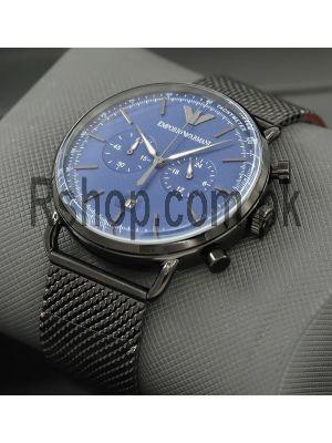 Emporio Armani Aviator Blue Dial Watch Price in Pakistan