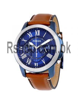 Fossil Grant Quartz Movement Blue Dial Men's Watch Price in Pakistan