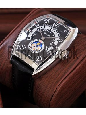 Franck Muller Irregular Retrograde Hour With Moon Phase Watch Price in Pakistan