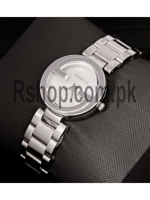 Gucci Interlocking G White Dial Stainless Steel Watch Price in Pakistan