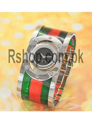Gucci Twirl Bangle Ladies Watch Price in Pakistan