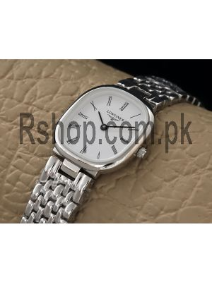 Longines Ladies White Dial Watch Price in Pakistan