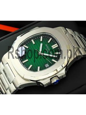 Patek Philippe Nautilus Green Dial Watch Price in Pakistan