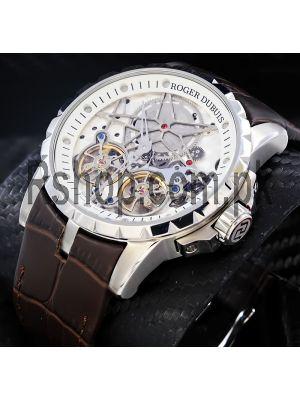 Roger Dubuis Excalibar Skeleton Double Tourbillon Watch Price in Pakistan