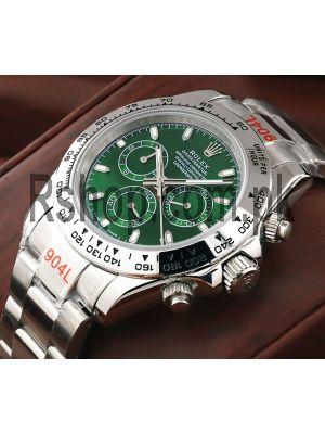 Rolex Cosmograph Daytona Green Dial Swiss Watch Price in Pakistan