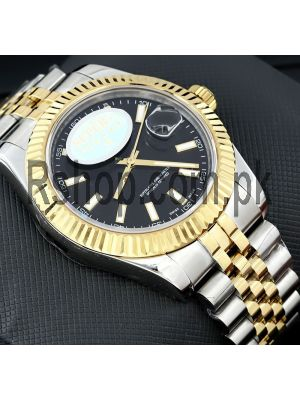 Rolex Datejust Two Tone ETA Watch Price in Pakistan