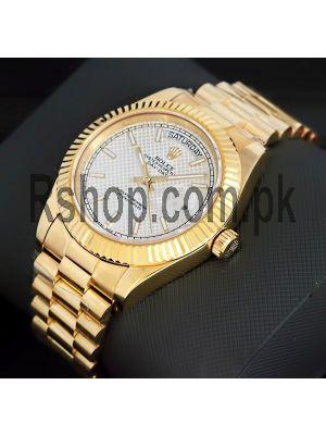 Rolex Day-Date II President Swiss Quality ETA Movement 2836 Watch  Price in Pakistan