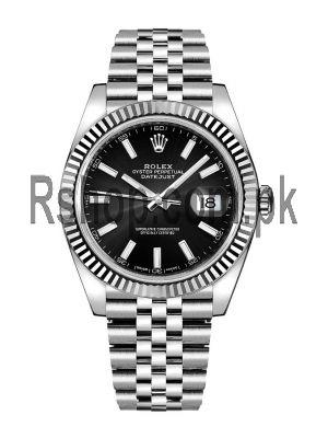 Rolex Datejust ETA 2836 Rolesor Fluted Bezel Watch Price in Pakistan