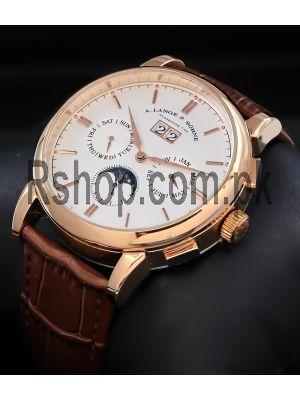 A. Lange & Söhne Saxonia Annual Calendar Watch Price in Pakistan