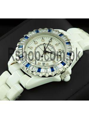 Chanel J12 White Ceramic Watch Price in Pakistan