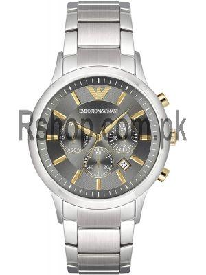 Emporio Armani AR11047 Grey Dial Men's Watch Price in Pakistan