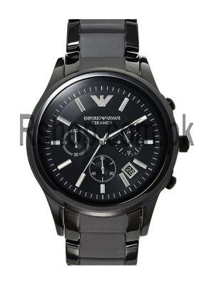 Emporio Armani AR1452 Ceramic Chronograph Watch AR1452  (Same as Original)