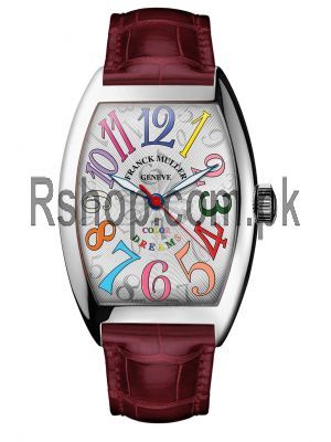 Franck Muller Color Dreams Ladies Watch Price in Pakistan