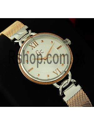 Gc Cable Chic Mesh Band Watch