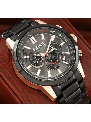 Hugo Boss Chronograph Black Stainless Steel Watch Price in Pakistan