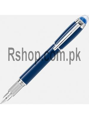 Montblanc StarWalker Blue Planet Resin Fountain Pen Price in Pakistan