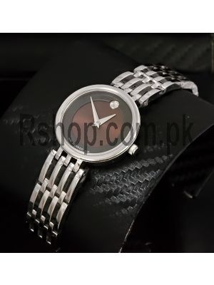 Movado Ladies Brown Dial Watch Price in Pakistan