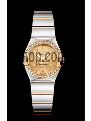 Omega Constellation Champagne Dial Watch Price in Pakistan