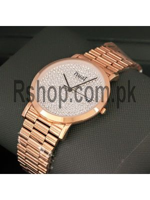 Piaget Diamond Dial Traditional Watch Price in Pakistan
