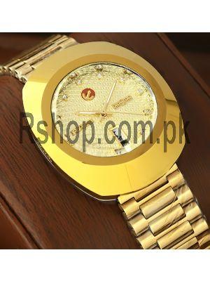 Rado DiaStar Gold Watch Price in Pakistan