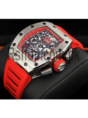 Richard Mille RM 011 Felipe Massa Flyback Chronograph Watch Price in Pakistan