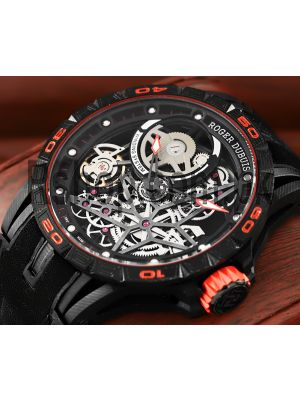 Roger Dubuis Excalibur Spider Pirelli Automatic Skeleton Watch Price in Pakistan