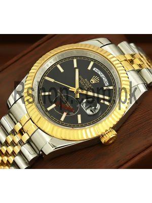 Rolex Day-Date Black Index Dial Watch Price in Pakistan
