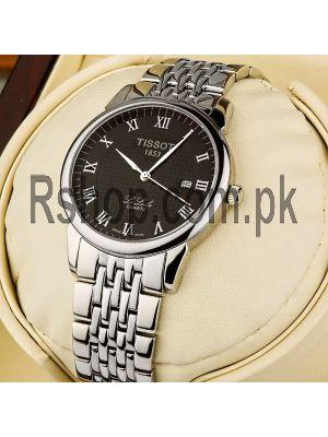 Tissot Le Locle Black Dial Replica Watches Lahore,