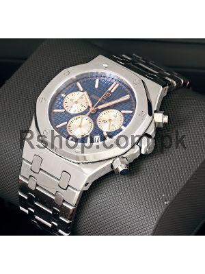 Audemars Piguet Royal Oak Chronograph Blue Dial Watches