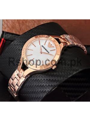Emporio Armani  Ladies Rose Gold watches in Pakistan