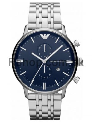 Emporio Armani Men's Two-Hand Stainless Steel Watch AR1648  (Same as Original)