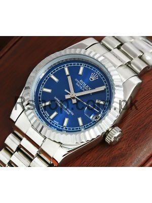Rolex Lady-Datejust Blue Dial Watch