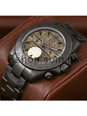 Rolex Black Pvd Watch Price in Pakistan